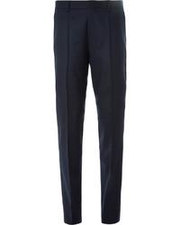 fb0fece537813 ... Pantalón de vestir de lana azul marino de Hugo Boss