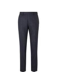 Pantalón de vestir de lana azul marino de Hugo Boss