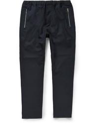 Pantalón de vestir de lana azul marino de Oamc