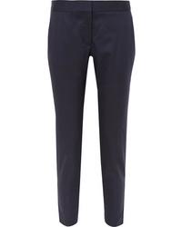 Pantalón de vestir de lana azul marino de Stella McCartney
