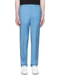 Pantalón de vestir de lana azul de Acne Studios