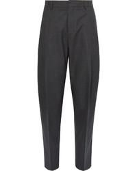 Pantalón de vestir de lana en gris oscuro de Acne Studios