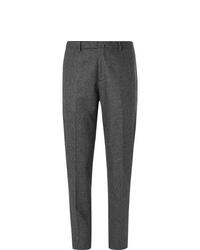 Pantalón de vestir de lana en gris oscuro de Boglioli