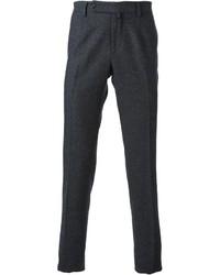 Pantalón de vestir de lana en gris oscuro de Ermanno Scervino