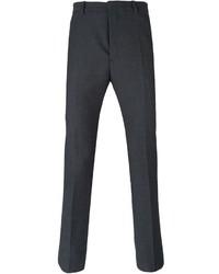Pantalón de vestir de lana en gris oscuro de Jil Sander