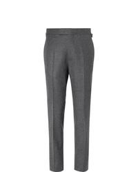 Pantalón de vestir de lana en gris oscuro de Kingsman