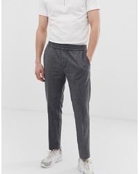 Pantalón de vestir de lana en gris oscuro de KIOMI