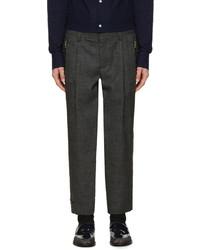 Pantalón de vestir de lana en gris oscuro de Kolor