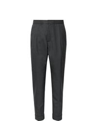 Pantalón de vestir de lana en gris oscuro de Officine Generale