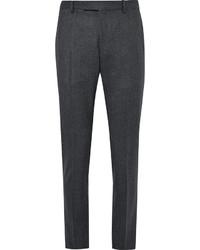 Pantalón de Vestir de Lana Gris Oscuro de Gant