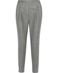 Pantalón de vestir de lana gris de Fendi