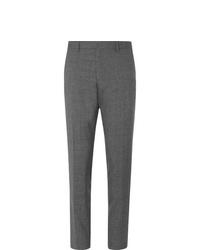 Pantalón de vestir de lana gris de Hugo Boss