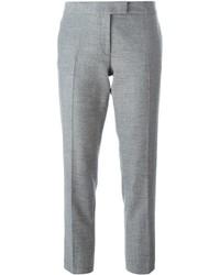 Pantalón de Vestir de Lana Gris de Joseph