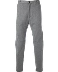 Pantalón de vestir de lana gris de Lanvin