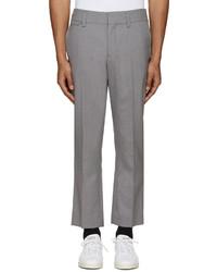 Pantalón de vestir de lana gris de Marc Jacobs