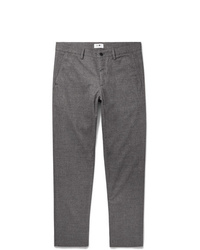 Pantalón de vestir de lana gris de Nn07