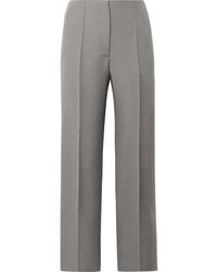 Pantalón de vestir de lana gris de The Row