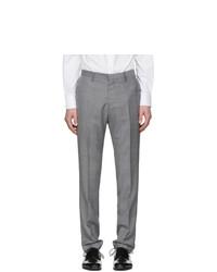 Pantalón de vestir de lana gris de Tiger of Sweden