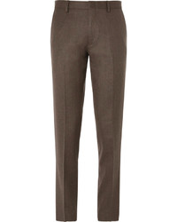 Pantalón de vestir de lana marrón de J.Crew