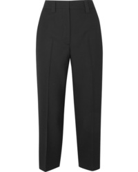 Pantalón de vestir de lana negro de Acne Studios