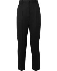 Pantalón de vestir de lana negro de Alexander McQueen