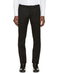 Pantalón de Vestir de Lana Negro de CNC Costume National