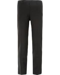 Pantalón de Vestir de Lana Negro de Dolce & Gabbana
