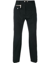Pantalón de vestir de lana negro de DSQUARED2