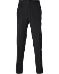 Pantalón de vestir de lana negro de Incotex