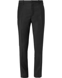 Pantalón de vestir de lana negro de Jil Sander