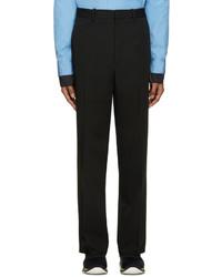 Pantalón de vestir de lana negro de Marni