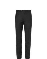 Pantalón de vestir de lana negro de Mr P.