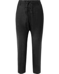 Pantalón de vestir de lana negro de Nili Lotan