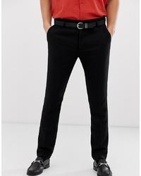 Pantalón de vestir de lana negro de Pier One