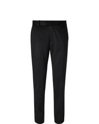 Pantalón de vestir de lana negro de Salle Privée