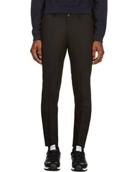 Pantalón de vestir de lana negro de Tiger of Sweden