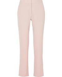 Pantalón de vestir de lana rosado de Stella McCartney