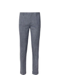 Pantalón de vestir de lino azul de Paul Smith