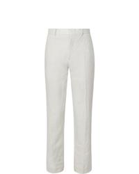Pantalón de vestir de lino blanco de Club Monaco