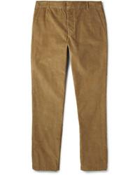 Pantalón de vestir de pana marrón claro de Band Of Outsiders