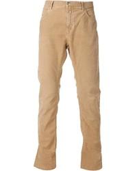 Pantalón de vestir de pana marrón claro de Closed