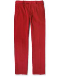 Pantalón de Vestir de Pana Rojo de Polo Ralph Lauren