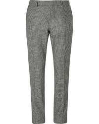 Pantalón de Vestir de Pata de Gallo Negro y Blanco de Tom Ford