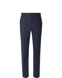 Pantalón de vestir de rayas verticales azul marino de Polo Ralph Lauren