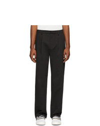 Pantalón de vestir de rayas verticales negro de Stolen Girlfriends Club