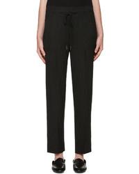 Pantalon de vestir de rayas verticales original 1524816