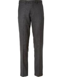 Pantalón de vestir de tartán en gris oscuro de J.Crew