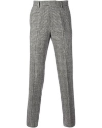 Pantalón de vestir de tartán gris de Ermanno Scervino