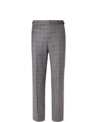 Pantalón de vestir de tartán gris de Gabriela Hearst