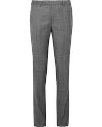 Pantalón de vestir de tartán gris de Paul Smith